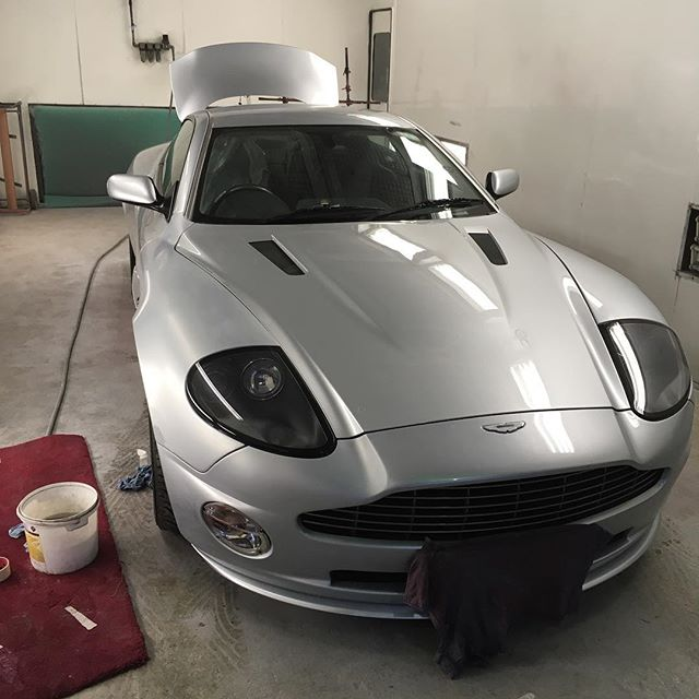 Aston Martin Paint Work Repair
